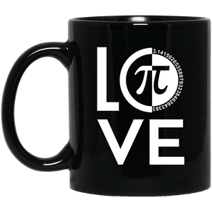 Pi Day Mug I Love Pi Mug Pi Lover 3.14 Pie Mug Funny Math Teacher Gifts
