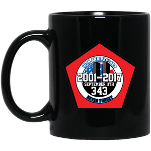 16th Anniversary Of 911 343 Firefighters Sacrificed Mug
