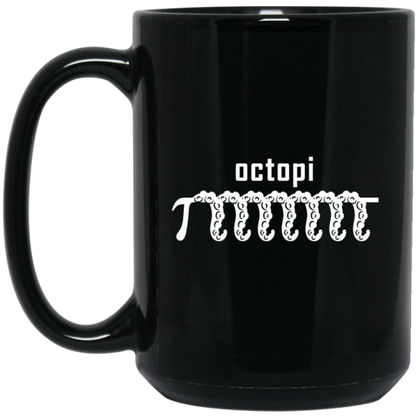 Pi Day Mug Funny Math Mugs Octopi Math Mug Octopi Raspberry Pi