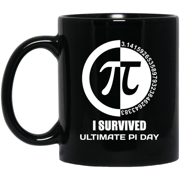 Pi Day Mug I Survived Tee Mug Ultimate Raspberry Pi Mug