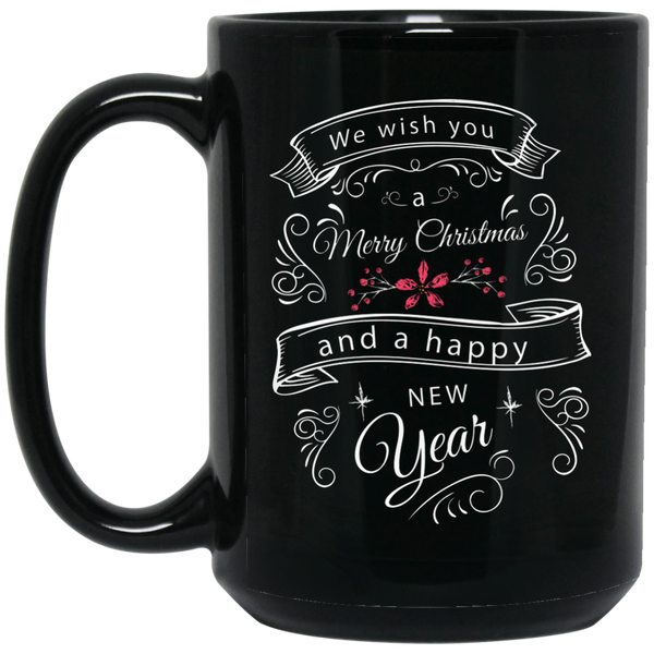 Merry Christmas Happy Holidays Mug Ho Ho Ho Christmas Mug