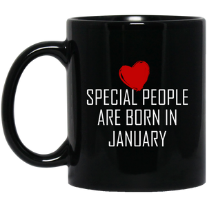 Special People Gifts January Born Mug Birthday Gifts