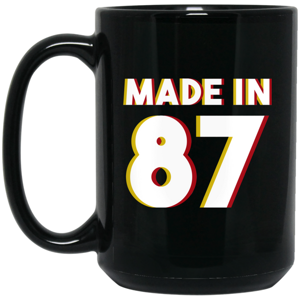 Made In 1987 Mug 30 Years Old Mug 1987 Birthday Gifts