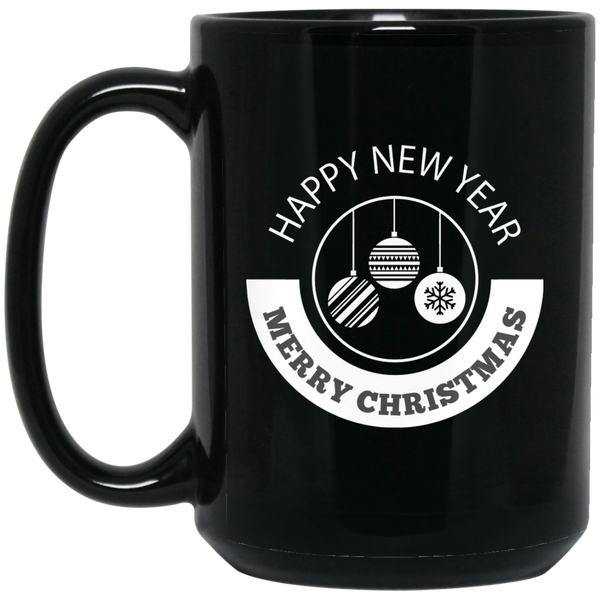 Merry Christmas Happy New Year Mug Happy New Year Party