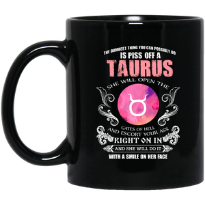 Taurus Zodiac Mug The Dumbest Thing Taurus Womens Mug