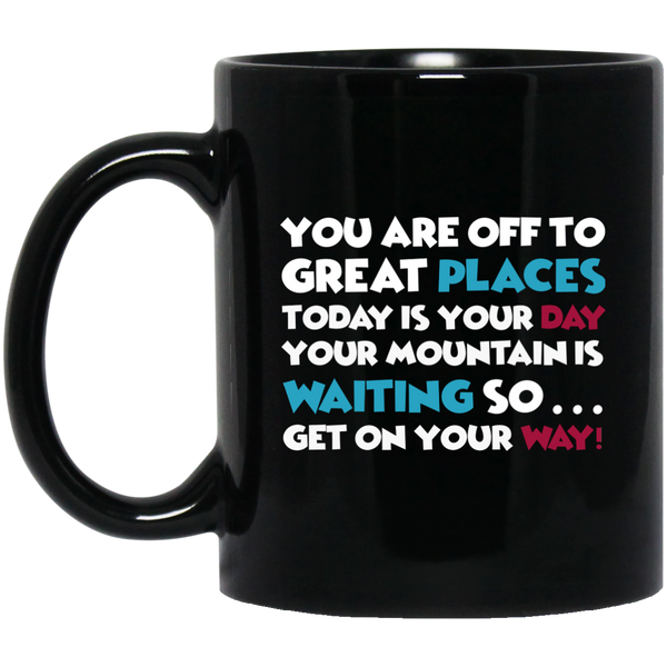 Dr. Seuss Mug You're Off To Great Places Today Is Your Day Read Across America Mug