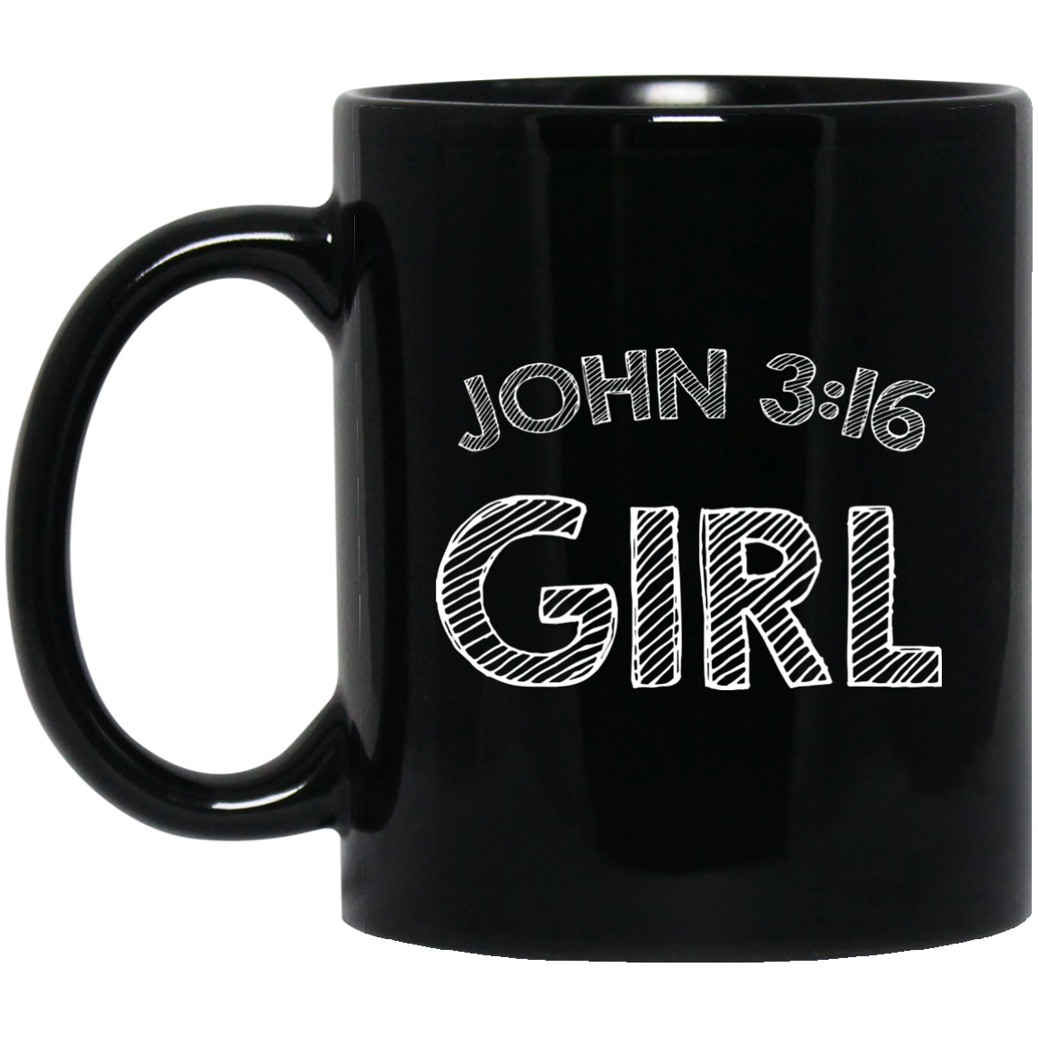 John 316 Girl T-Shirt Three 16 316 Christian Style Jesus