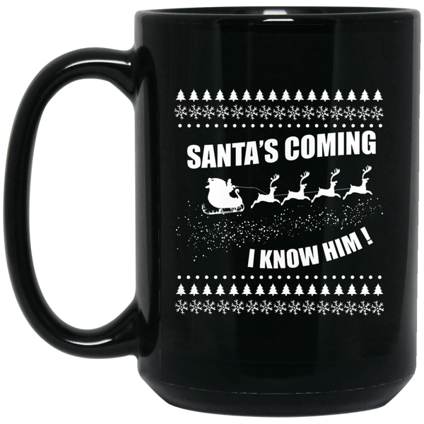 Winter Is Coming  Mug Santa'S Coming Mug Funny Santa Mugs Women