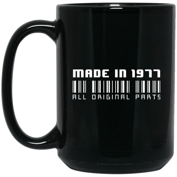 Made In 1977 All Original Parts 40th Birthday Gifts
