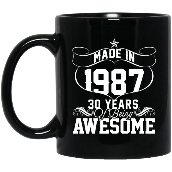 Made In 1987 30 Years Of Being Awesome Mug