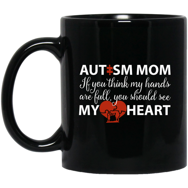 Autism Mom Mugs Autism Awareness Mug Super Mom Mug
