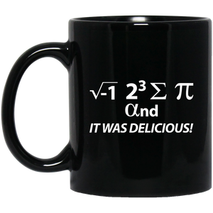 Pi Day Mug I Ate Some Pi And It Was Delicious