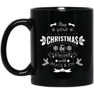 Christmas Blessed Mug Funny Christmas Mugs Christmas Quotes Mugs