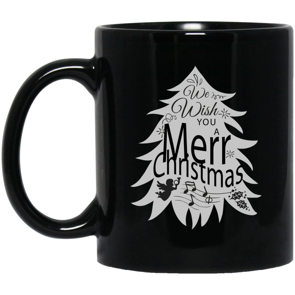 Chrismas Tree Mug Christmas Music  Mug Merry Christmas Happy New Year Mug
