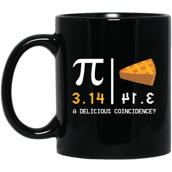 Pi Day Mug I Ate Some Pi And It Was Delicious Pie 3.14 Mugs For Women