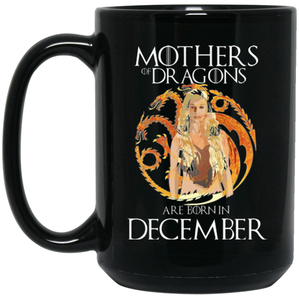 Mother Dragon Mug December Born Mug