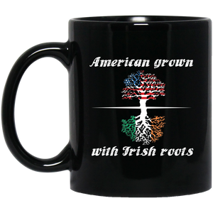 Patrick Mug American Grown With Irish Roots Mug