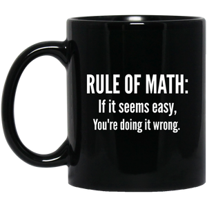 Pi Day Mug Funny Math Mugs Math Rules Mug