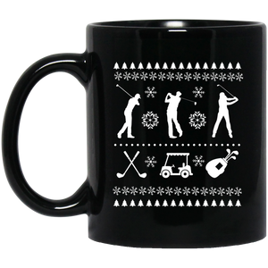 Funny Christmas Mugs Golf Christmas Ornament Tree