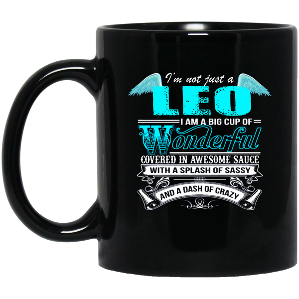 Leo Zodiac Mug Im Not Just A Leo Leo Mugs For Men