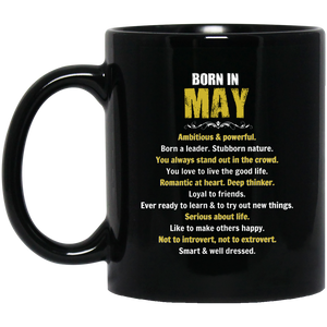 May Girl Mug Born In May Mug May Mugs 15Oz