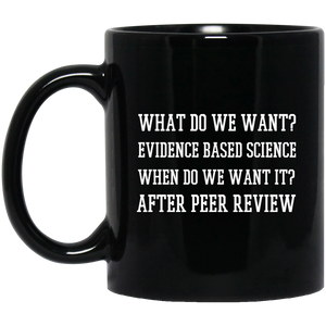 Earth Mugs What Do We Want Science Coffee Mug