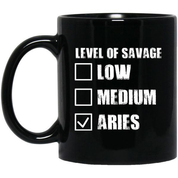 Aries Zodiac Mug Aries Mugs For Men Women Aries Level