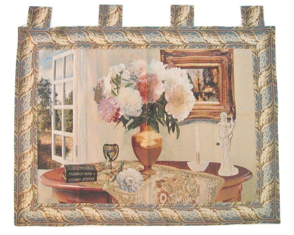 "DaDa Bedding Breeze of Admiration Elegant Woven Baroque Tapestry Wall Hanging - 36"" X 50"""