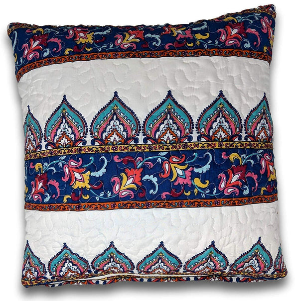 "DaDa Bedding Set of Two Bohemian Earthy Meadow Throw Pillow Covers, 18"" x 18"", 2-PCS (160553-9-CC)"
