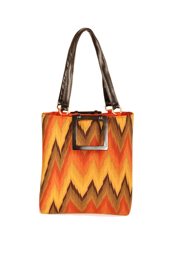 Flame Rust  Large Tote