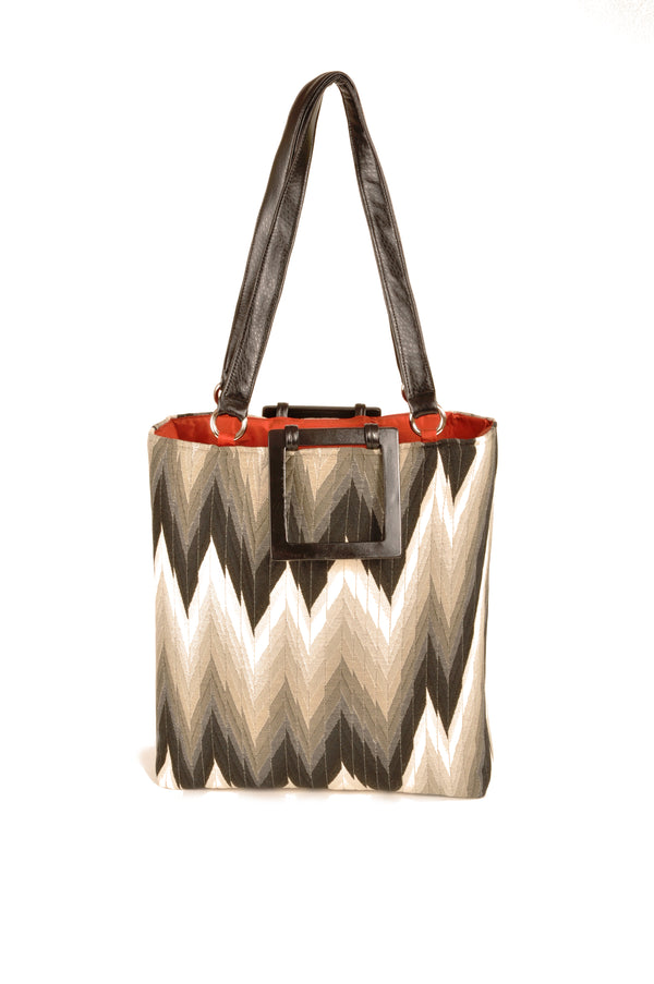 Flame Black  Large Tote