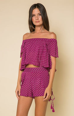 Loretta Crop Top