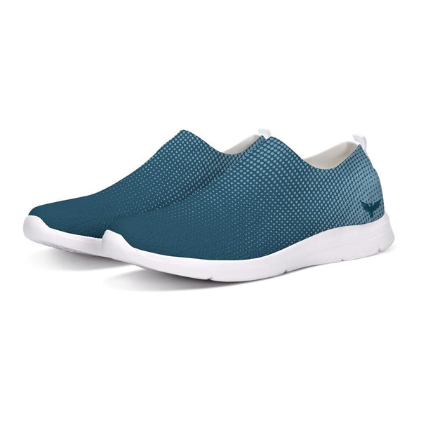 FYC Athletic Lightweight Blue Hyper Drive Flyknit Slip-On Shoes