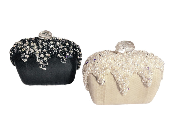 "AR ""Sofia"" Clutch - Black"