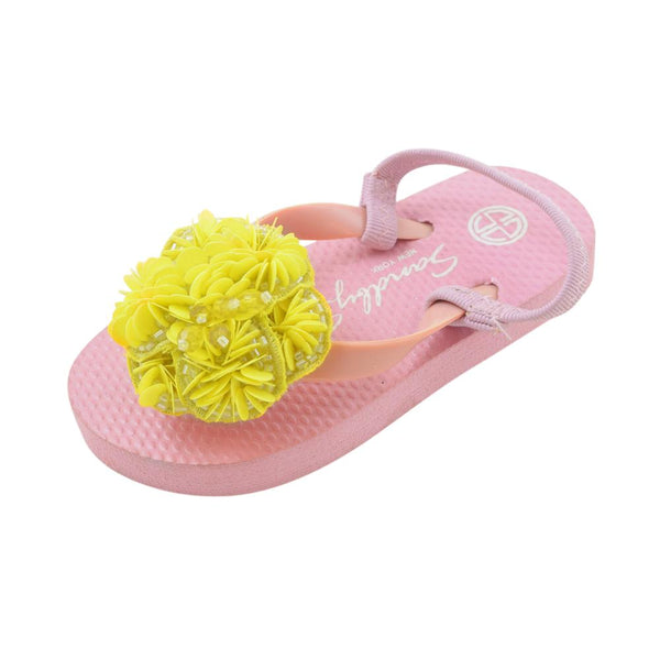 Noho (Yellow Flower) - Baby / Kids Sandal