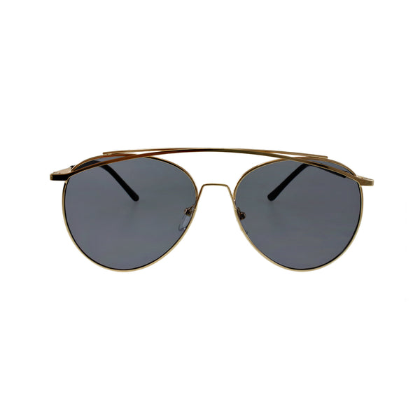 Jase New York Lincoln Sunglasses in Smoke