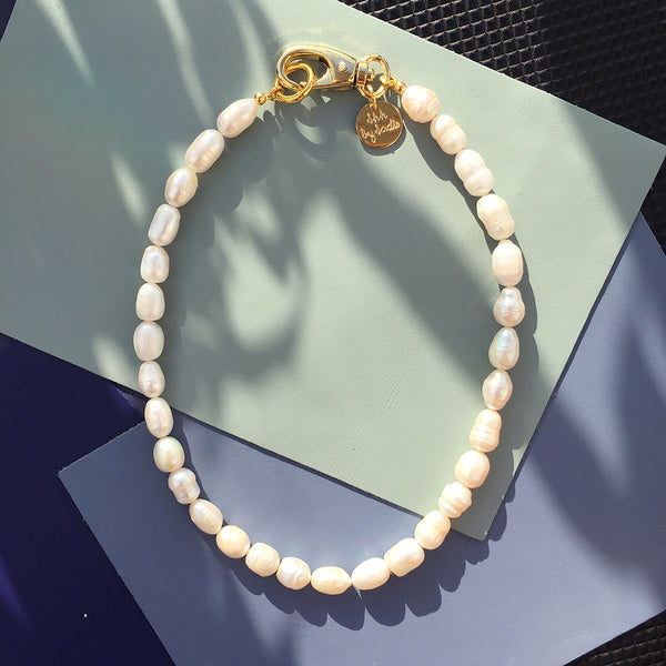 Pearl Hardware Necklace