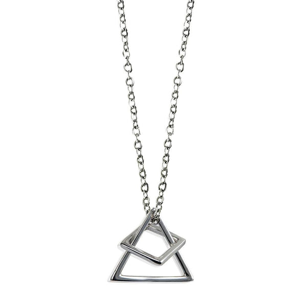 Geo Game Necklace