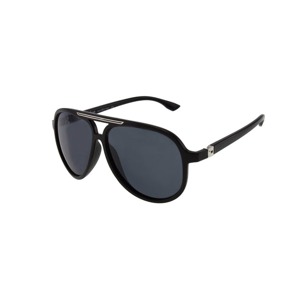 Jase New York Rivers Sunglasses in Matte Black