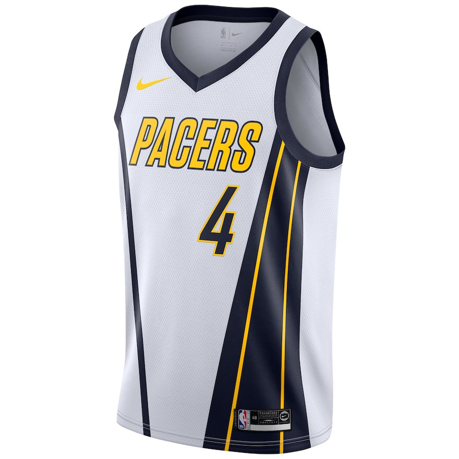 on sale 4a25d ec365 Youth Victor Oladipo Indiana Pacers Swingman Jersey White - Earned Edition  2019