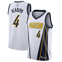 d009d46b1d8 Youth Victor Oladipo Indiana Pacers Swingman Jersey White - Earned Edition  2019 ...