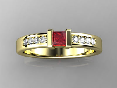 Christopher Michael Designed One Birthstone Mothers Ring*