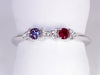 2 Birthstone Mothers Ring With .11 carats of Fine Diamonds by Christopher Michael*