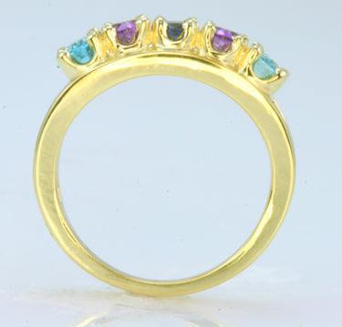 Five Stone Oval Mothers Ring*