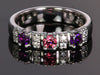 Our Most Popular Mothers ring with Three Larger 3.5 mm Gems by Christopher Michael - mothers family rings