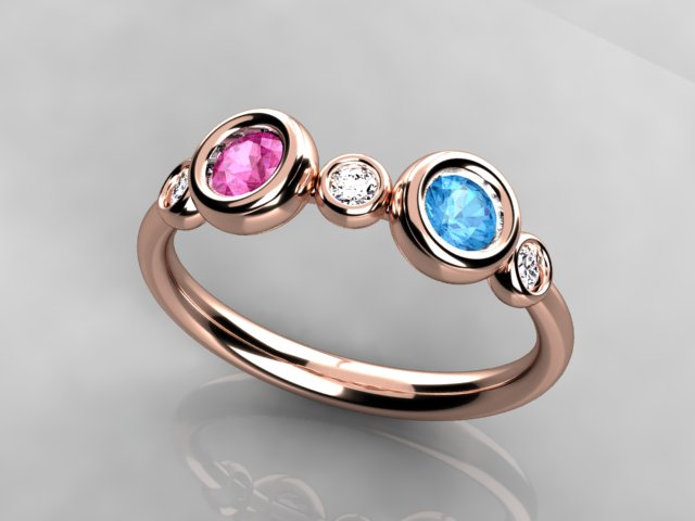 Rose Gold Mothers Rings Jewelry
