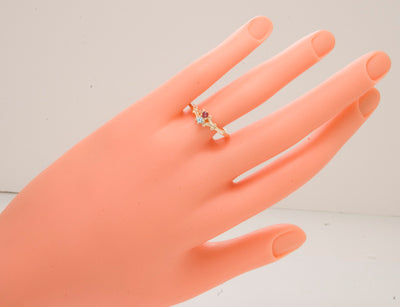 2 Stone Mothers Ring*
