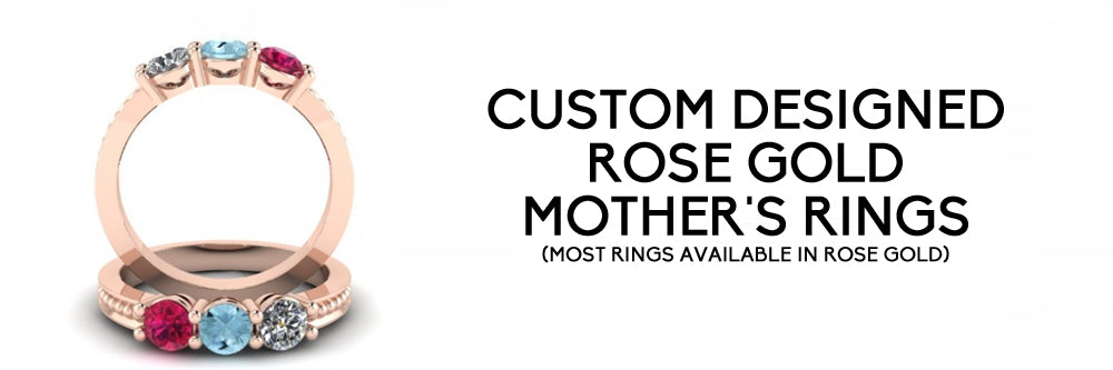 ROSE GOLD MOTHERS RINGS