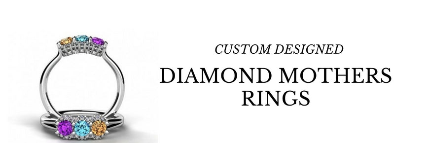 Diamond Mothers Rings