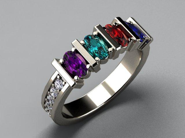 Request a custom ring quote from mothers family rings